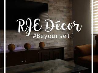 RJE004: Salas de estilo  por RJE Decor