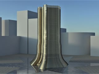 3tecture – Texas Tower:  tarz ,
