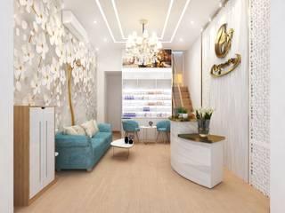 Dự án thiết kế spa cao cấp: hiện đại  by Công Ty TNHH Funi, Hiện đại