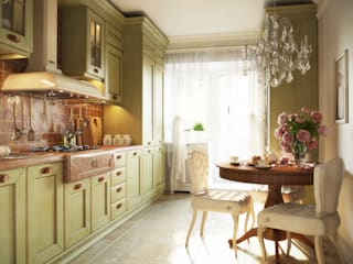 Irina Yakushina Kitchen Green