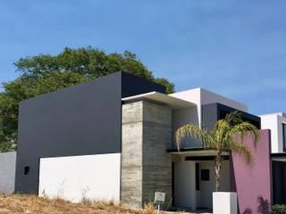 Casa Rosa Morada Casas modernas de Vace Arquitectos sa de cv Moderno