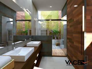 Casa Parota Baños modernos de Vace Arquitectos sa de cv Moderno