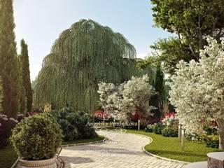 حديقة تنفيذ Дизайн-студия элитных интерьеров Анжелики Прудниковой