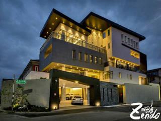 層峰:  房子 by Zendo 深度空間設計,