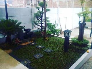 31 ide taman kecil | 082159942323 JASA TAMAN Ruang Komersial Gaya Asia Bambu Green