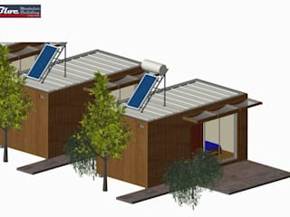 сучасний  by BLOC - Casas Modulares, Сучасний