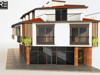 ANTRE TASARIM  – ÖZÇELİK ÇAMLIK PROJESİ:  tarz Apartman