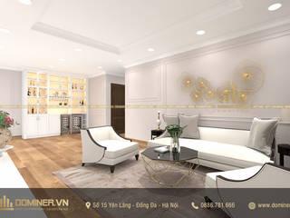 Thiết kế nội thất chung cư Park Hill phong cách Modern Traditional – Chị Thơm bởi Thiết kế - Nội thất - Dominer