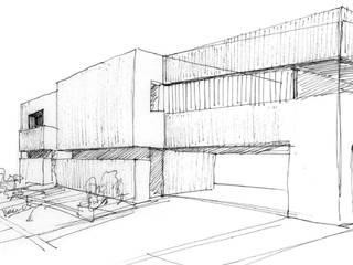 Construir vivienda unifamiliar en Madrid, arquitectura de Otto Medem Arquitecto vanguardista en Madrid Minimalista