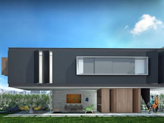 Single family home by FCstudio, Modern
