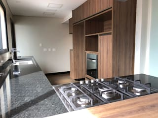 Reforma Apartamento | Moema | 2018 ABBITÁ arquitetura Cozinhas modernas