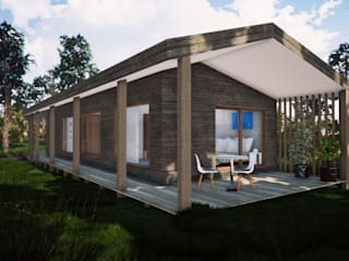 Proyecto Casa Corredor de L2 Arquitectura Moderno