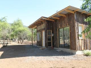 Proyecto y construcción Casa Bosque de L2 Arquitectura Rústico