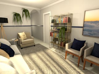 Revisite Modern living room Grey