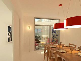Modern Living Room by José Melo Ferreira, Arquitecto Modern
