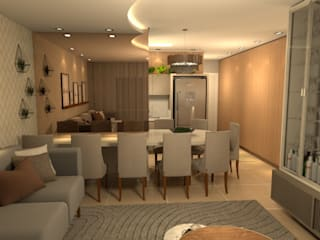Revisite Modern dining room Beige