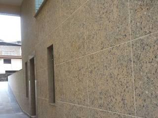 Serviços realizados pela Mix Company MIX COMPANY CONSTRUÇÕES E REFORMAS Condomínios Efeito de madeira