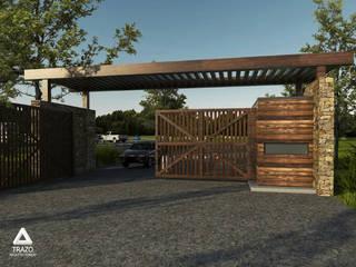 PROYECTO LUCIERNAGAS: Puertas de madera de estilo  por Trazo Arquitectonico