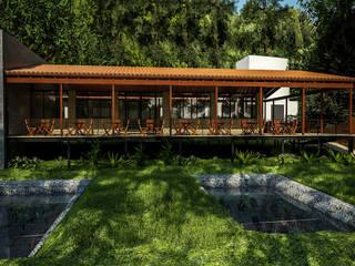 PROYECTO LUCIERNAGAS: Comedores de estilo  por Trazo Arquitectonico