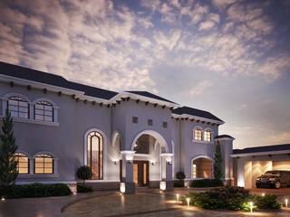 Construccion Residencia AM:  de estilo  por Bauzen Arquitectura