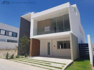 Moderne huizen van AFG Construcción y Diseño Modern