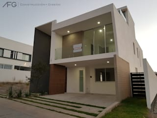 Single family home by AFG Construcción y Diseño, Modern