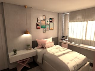 Revisite Teen bedroom Pink