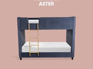 Pack Aster-Eyra: una recámara súper cool con muebles para niños que te va a encantar de moblum Minimalista