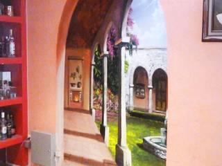 Hotel Gaya Kolonial Oleh DD: ARTE, DISEÑO Y MURALISMO Kolonial