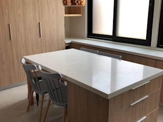 Modern kitchen by Latitud Sur Modern