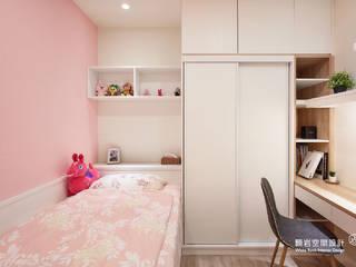女兒房:  小臥室 by 顥岩空間設計