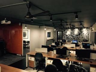Ground 11 Office,Pune Modern study/office by Ground 11 Architects Modern