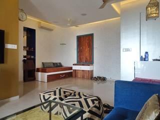 Living room: minimalist  by Studio Arcave,Minimalist