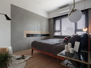 Scandinavian style bedroom by Moooi Design 驀翊設計 Scandinavian