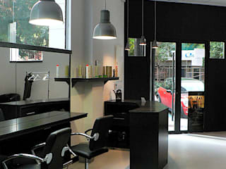 Estudio1403, COOP.V. Arquitectos en Valencia Ruang Keluarga Modern