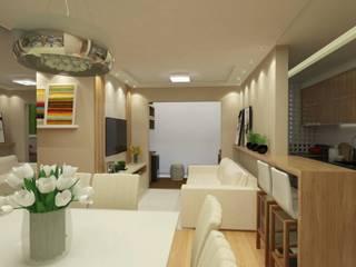 Projeto de Interiores F l R por Welizângela Prates Interiores