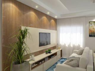Projeto de Interiores M l R por Welizângela Prates Interiores