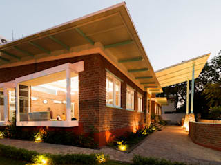 Jaipur- Architecture and interior dessign of School or shala for yoga and meditation by flamingo architects