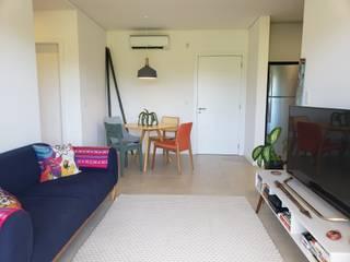 Phòng khách theo Bloco Z Arquitetura,