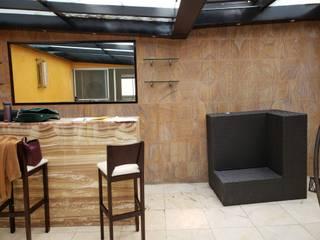 Terraza R. Plata :  de estilo  por Soma & Croma,