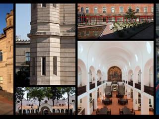 Áreas de Especialidad Casas clásicas de Alonso Chein Arquitectura Clásico