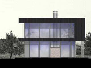 VIVIENDA COMPACTA : Casas prefabricadas de estilo  por ESTUDIO OMMO