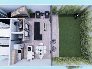 Habitacional contemporaneo de Disarec