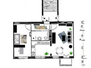 Gleimstraße - Mietwohnung für GründerInnen: modern  von LuxuryLiving - Feng Shui,Modern