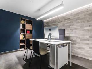 OFICINA DGLA LECHERIA Oficinas de estilo moderno de Design Group Latinamerica Moderno