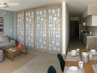 Salas de estilo  por UG ARQUITECTOS