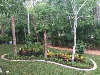 トロピカルな 庭 の UG ARQUITECTOS トロピカル