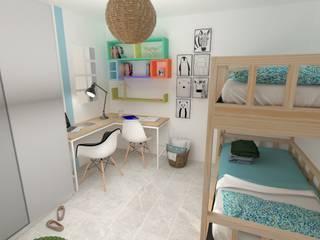 Dormitorio Juvenil Sevilla de Akanto Estudio Moderno