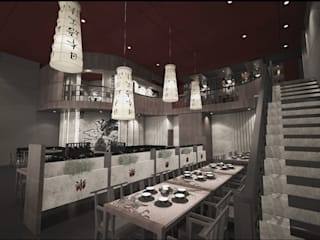 Remodelación de Restaurante Señor Wong Gastronomía de estilo asiático de GA Experimental Asiático