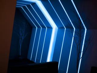 Diseño y construcción del Restobar Nazca Bares y clubs de estilo moderno de GA Experimental Moderno